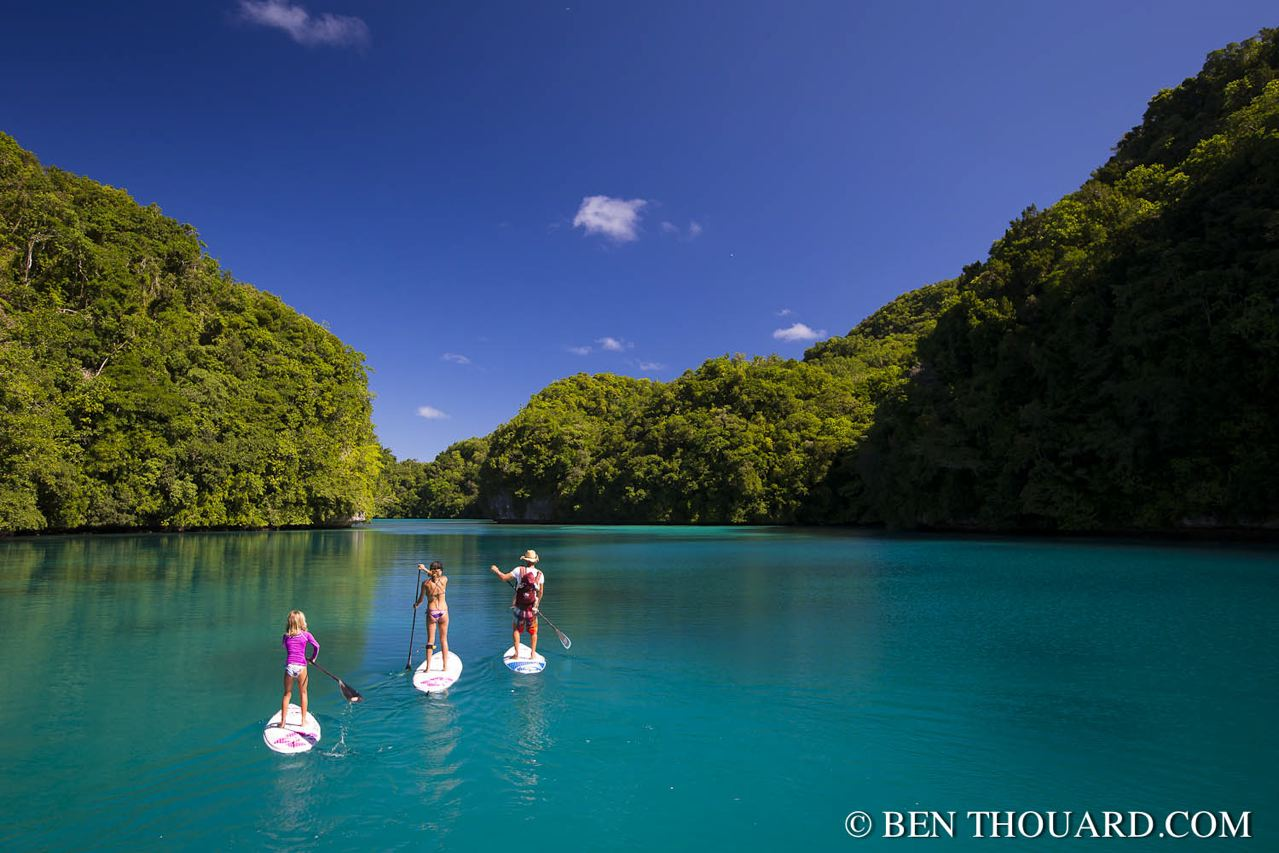 © Ben Thouard :  Camping Trip in the Rock Islands / Palau - www.benthouard.com