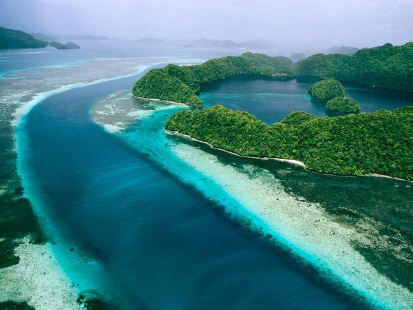 l'île de palau
